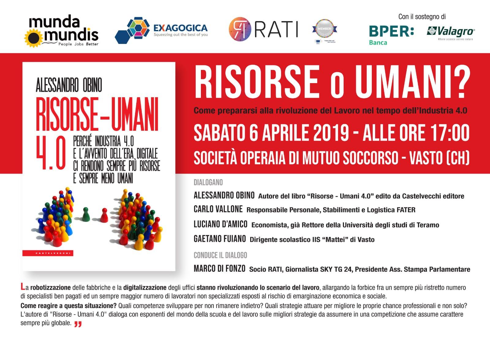Risorse - umani 4.0 - Alessandro Obino